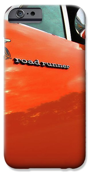1969 Plymouth Road Runner 440 Roadrunner iPhone Case by Gordon Dean II