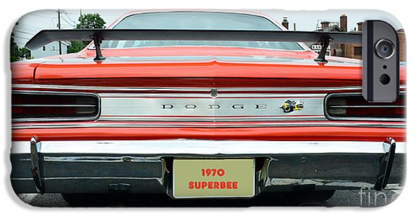 Coronet iPhone Cases - 1970 Dodge Coronet Super Bee iPhone Case by Paul Ward