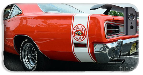 Coronet iPhone Cases - 1970 Dodge Super Bee 2 iPhone Case by Paul Ward