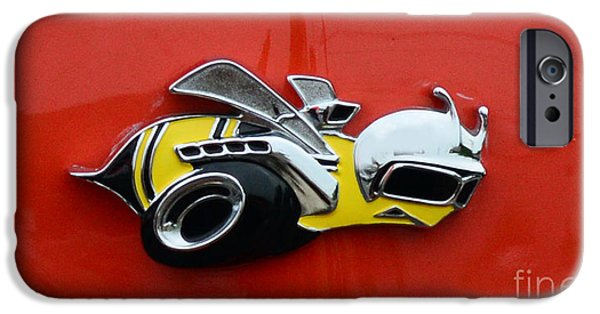 Super Bee iPhone Cases - 1970 Dodge Super Bee Emblem iPhone Case by Paul Ward