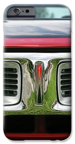 Super Bee iPhone Cases - 1972 Dodge Charger 400 Magnum iPhone Case by Gordon Dean II
