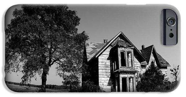 Haunted House iPhone Cases - Abandoned House iPhone Case by Cale Best