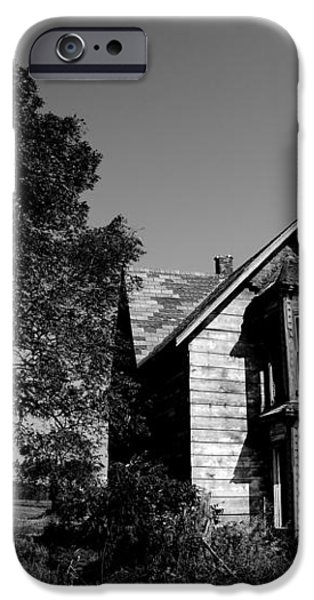 Abandoned House iPhone Case by Cale Best