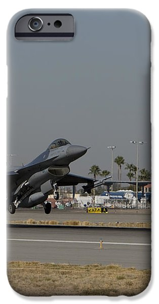 An F-16 Fighting Falcon Takes iPhone Case by HIGH-G Productions