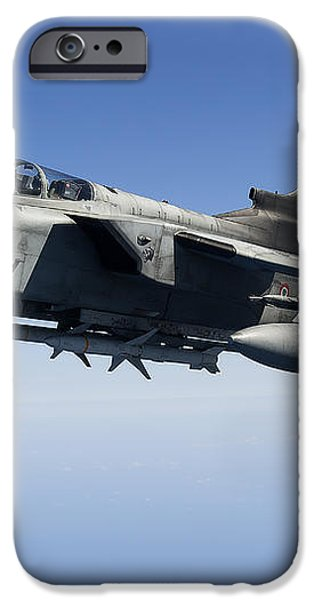 An Italian Air Force Tornado Ids iPhone Case by Gert Kromhout