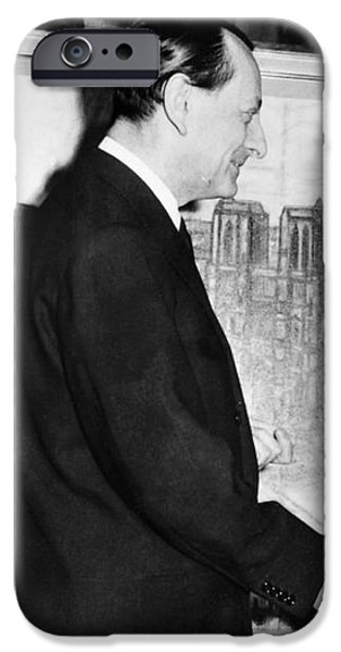 ANDRE MALRAUX (1901-1976) iPhone Case by Granger