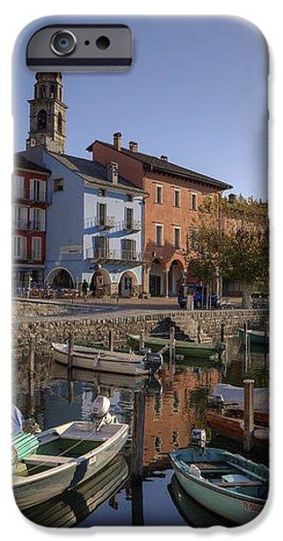 Ascona - Lake Maggiore iPhone Case by Joana Kruse