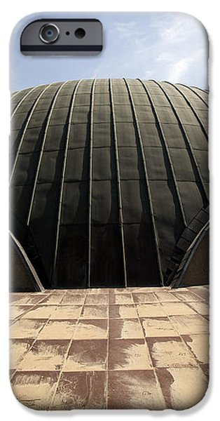 Baghdad, Iraq - A Great Dome Sits At 12 iPhone Case by Terry Moore