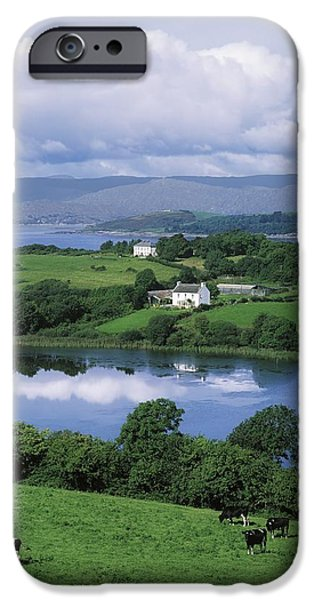 Farm Stand iPhone Cases - Bantry Bay, Co Cork, Ireland iPhone Case by The Irish Image Collection