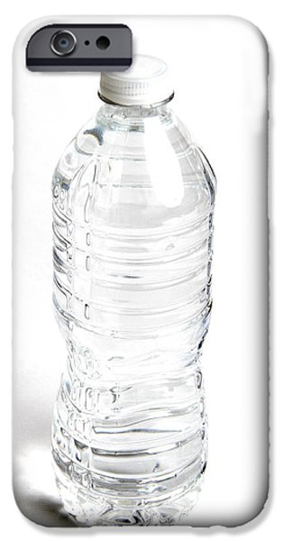 Bottled Water iPhone Case by Photo Researchers