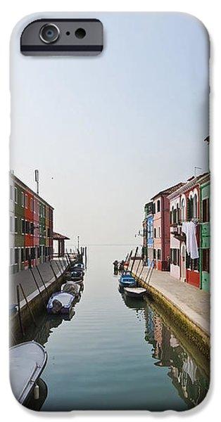 Burano - Venice - Italy iPhone Case by Joana Kruse