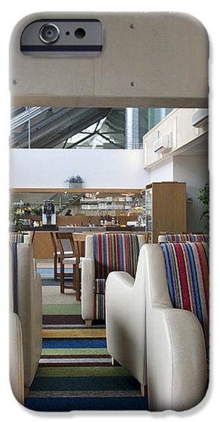 Business Lounge at an Airport iPhone Case by Jaak Nilson