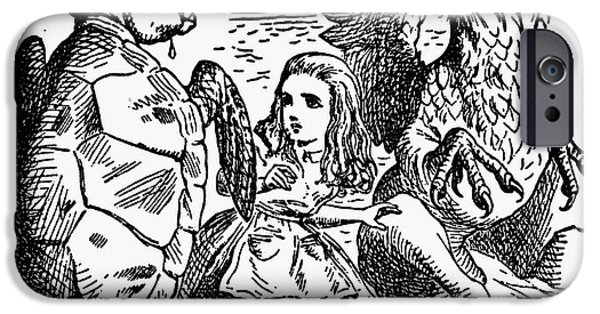 Alice In Wonderland Photographs iPhone Cases - Carroll: Alice, 1865 iPhone Case by Granger