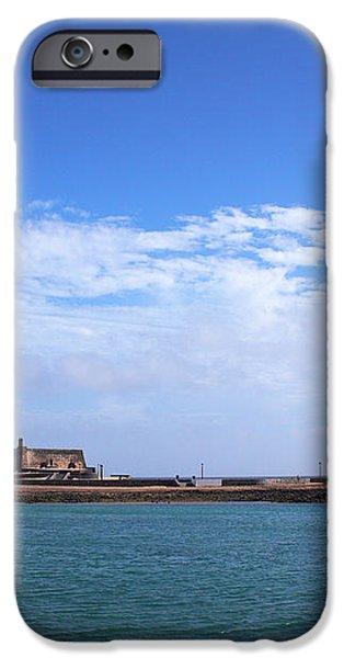 Castillo de San Gabriel at Arrecife iPhone Case by Jouko Lehto