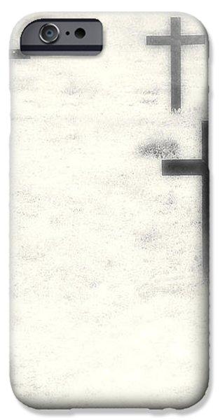 cemetery iPhone Case by Joana Kruse