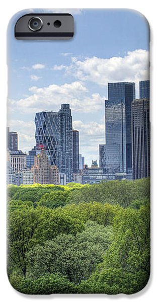 Central Park South iPhone Case by Ariane Moshayedi