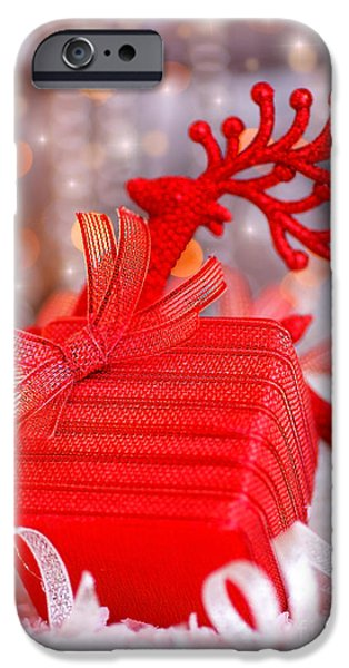 Christmas gift iPhone Case by Anna Omelchenko