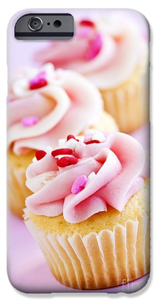Cupcakes iPhone Case by Elena Elisseeva