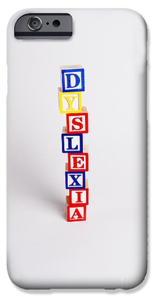 Alphabet Learning iPhone Cases - Dyslexia iPhone Case by Photo Researchers, Inc.