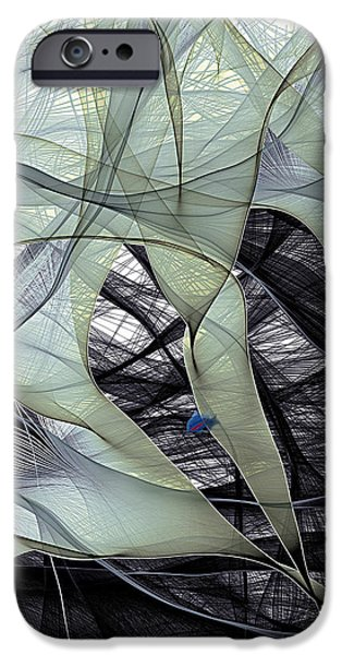 Recently Sold -  - Animals Photographs iPhone Cases - Electron Flow iPhone Case by Eric Heller