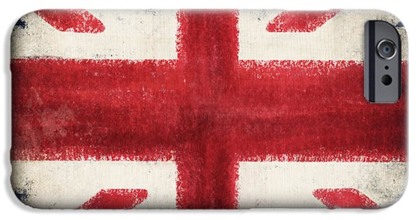 Patriotism iPhone Cases - England flag iPhone Case by Setsiri Silapasuwanchai