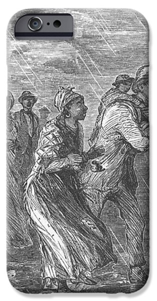 Escaping To Underground Railroad iPhone Case by Photo Researchers