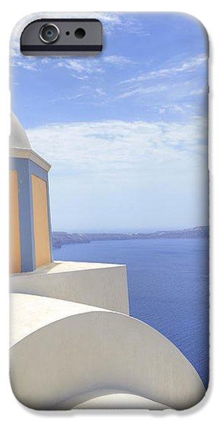 Fira - Santorini iPhone Case by Joana Kruse