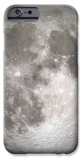Full Moon iPhone Case by Stocktrek Images