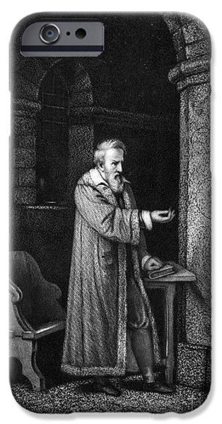 GALILEO GALILEI (1564-1642) iPhone Case by Granger
