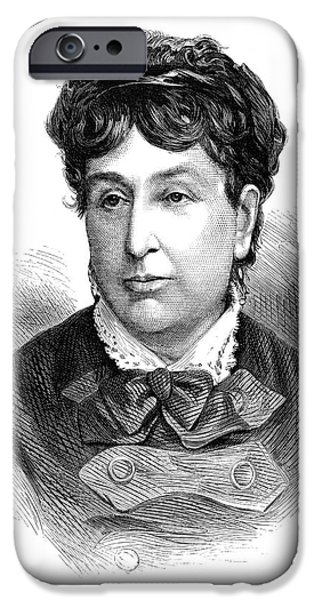 GEORGE SAND (1804-1876) iPhone Case by Granger