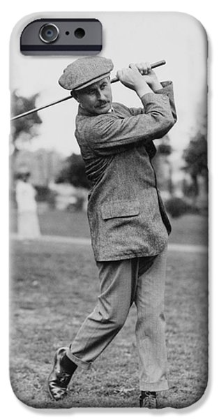 HARRY VARDON (1870-1937) iPhone Case by Granger