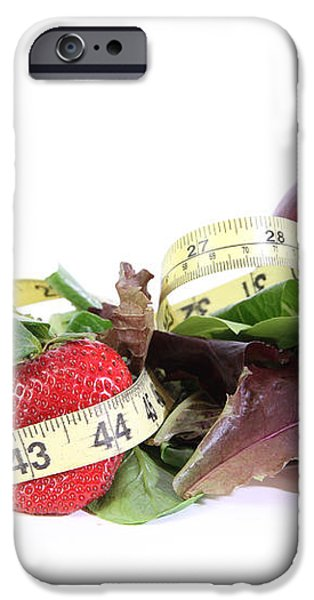 Healthy Diet iPhone Case by Photo Researchers, Inc.