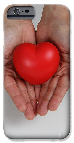 Heart Disease Prevention iPhone Case by Photo Researchers, Inc.