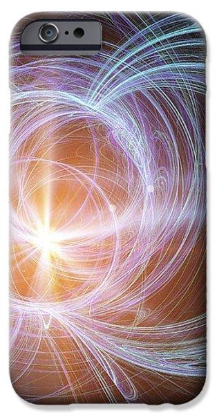 Higgs Boson, Conceptual Artwork iPhone Case by Pasieka