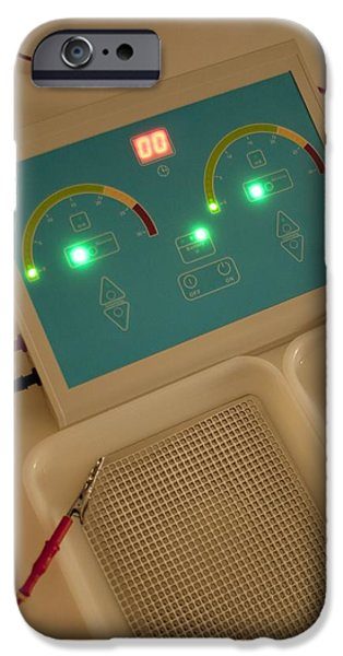 Iontophoresis Equipment iPhone Case by