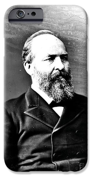 James A. Garfield, 20th American iPhone Case by Photo Researchers