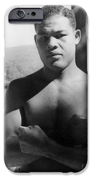 Boxer iPhone Cases - Joe Louis (1914-1981) iPhone Case by Granger