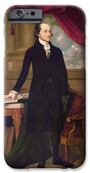 JOHN JAY (1745-1829) iPhone Case by Granger