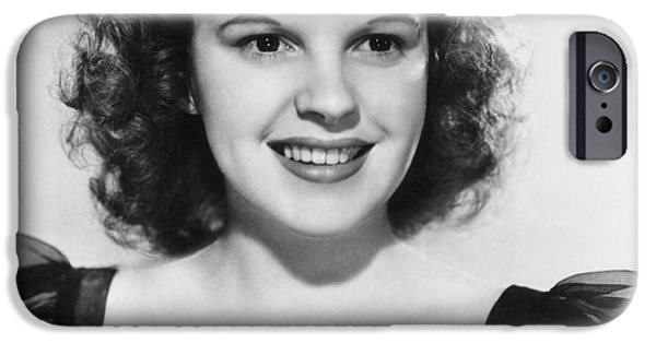 1950s Movies iPhone Cases - Judy Garland (1922-1969) iPhone Case by Granger