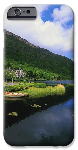 Kylemore Abbey, Co Galway, Ireland iPhone Case by The Irish Image Collection