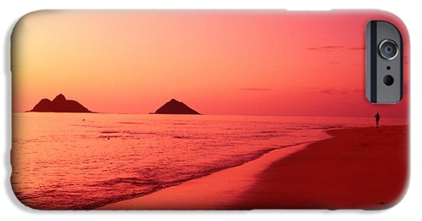Adrenaline iPhone Cases - Lanikai Beach iPhone Case by Dana Edmunds - Printscapes