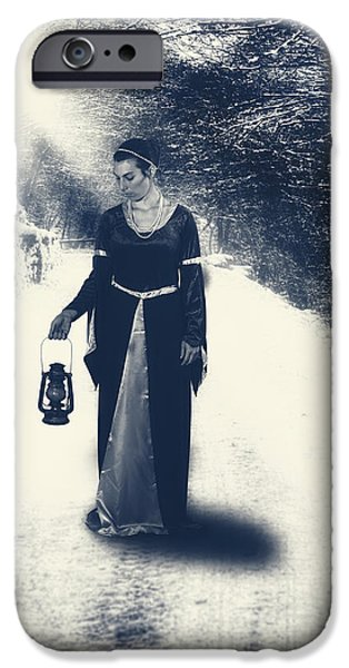 Edwardian iPhone Cases - Lantern iPhone Case by Joana Kruse