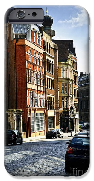 London street iPhone Case by Elena Elisseeva