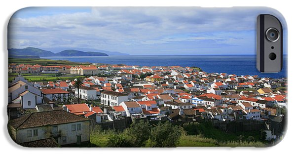 Village By The Sea iPhone Cases - Maia - Azores islands iPhone Case by Gaspar Avila