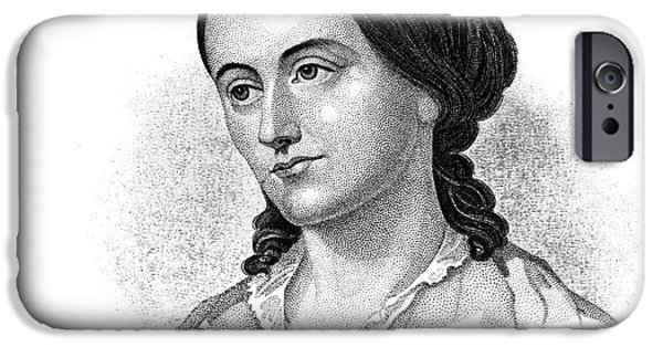 Autographed iPhone Cases - Margaret Fuller (1810-1850) iPhone Case by Granger