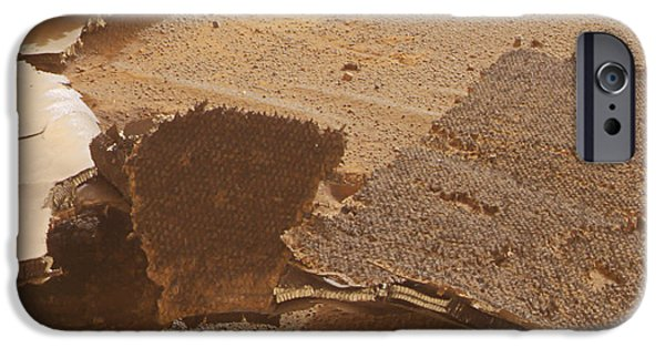 21st iPhone Cases - Mars Exploration Craft Heat Shield iPhone Case by NASA / Science Source
