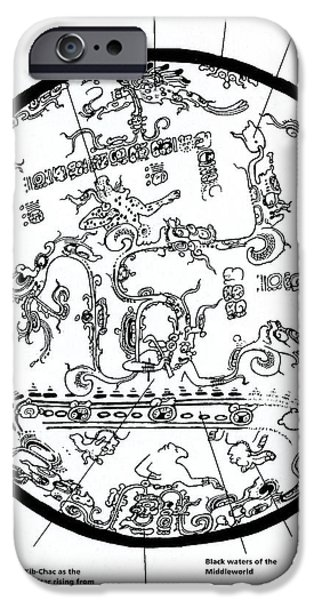 Mayan Cosmos iPhone Case by Science Source