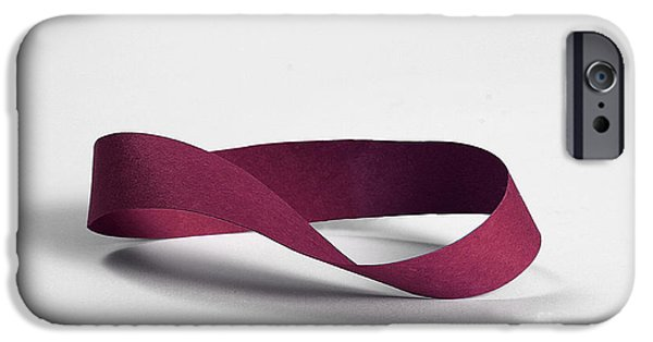 Mobius Strip iPhone Cases - Möbius Strip iPhone Case by Photo Researchers, Inc.