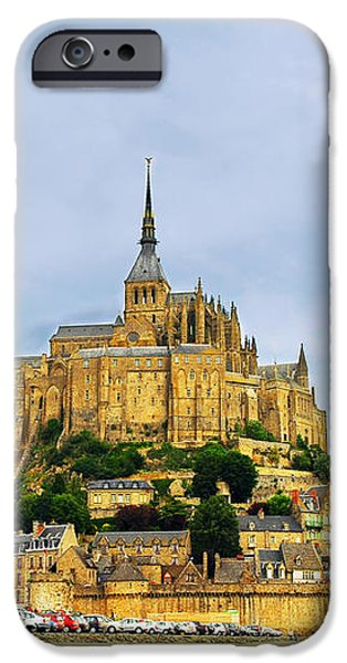 Mont Saint Michel iPhone Case by Elena Elisseeva