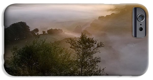 Fog Mist iPhone Cases - Morning Mist iPhone Case by Dr Keith Wheeler
